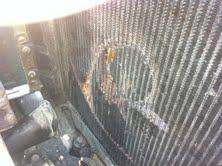 Hole in Radiator