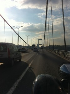 Bosphorus Bridge - spans two continents